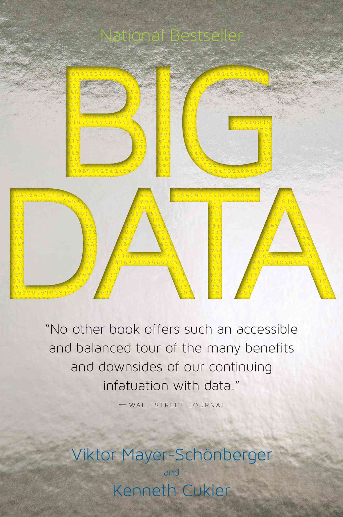 Big Data By Mayer-Schonberger, Viktor/ Cukier, Kenneth